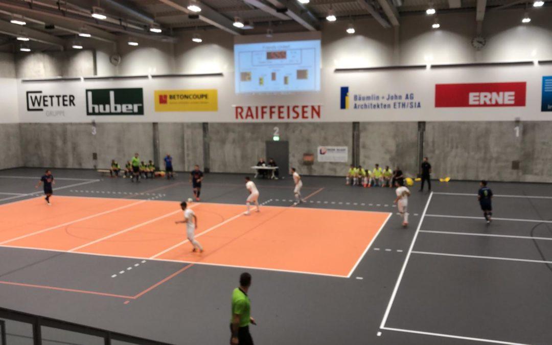 Futsal Golden Lions übernehmen Tabellenspitze