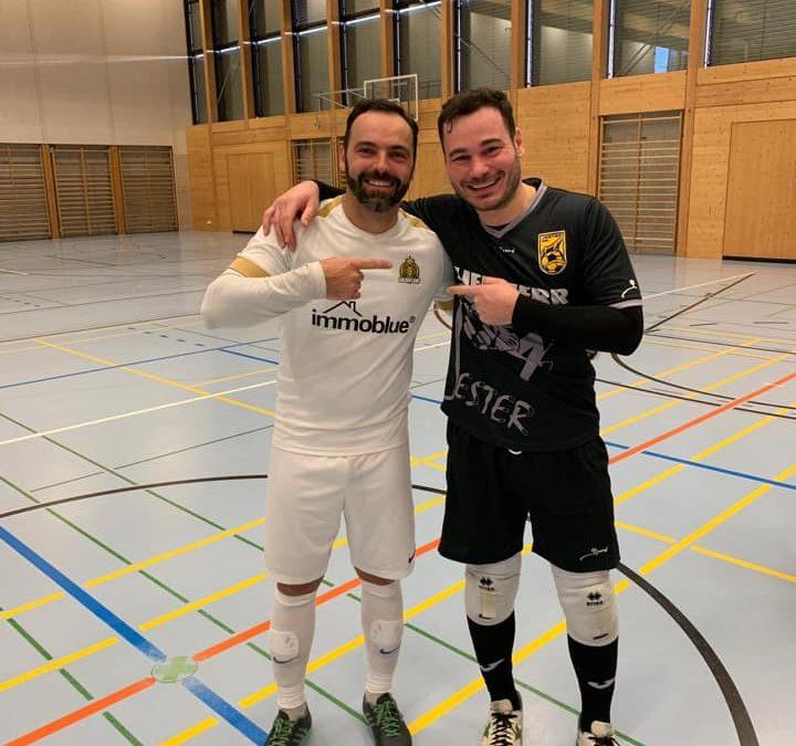 Ein perfekter Tag für den Verein und absolute Futsalwerbung